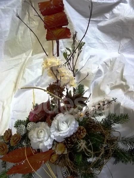 f21f7ebe5 Smútočná kytica z umelých kvetov 02 | kvety online | eshop s kvetmi ...