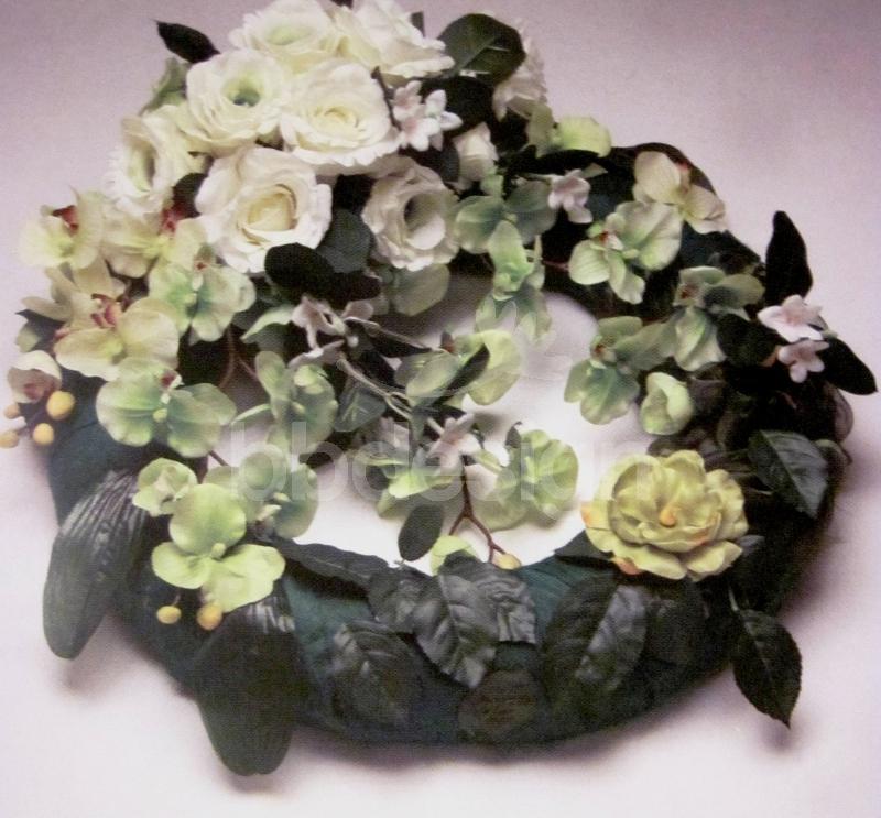 b25a5b9a1 Smútočný veniec umelý 04 | kvety online | eshop s kvetmi | BB Design